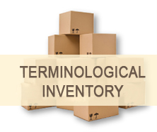 Terminological inventory